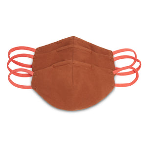 Three Pack of Face Masks, Nude II