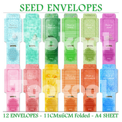 Seed Envelope Pack