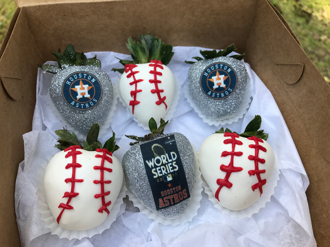World Series Astros Strawberry Pack!