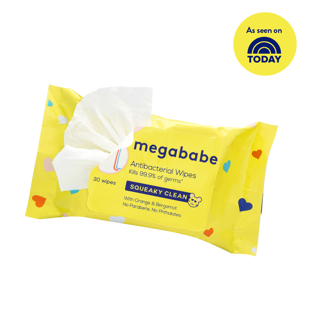 Squeaky Clean Antibacterial Wipes