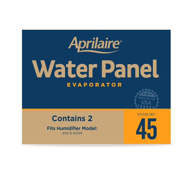 Aprilaire 45 Replacement Water Panel for Aprilaire Whole House Humidifier Models 400, 400A and 400M