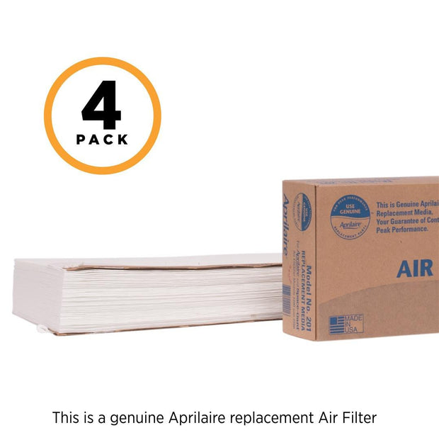 Aprilaire 201 air filter with package 4 pack