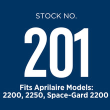 Aprilaire 201 air filter is used in several air purifier models