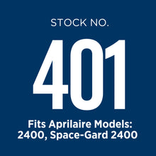Aprilaire 401 air filter is used in several air purifier models