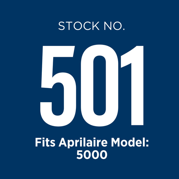 Aprilaire 501 air filter is used in the model 5000 air purifier