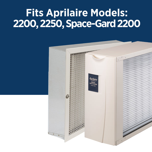 Aprilaire 201 Air Filter for Air Purifier Models 2200, 2250, Space-Gard 2200