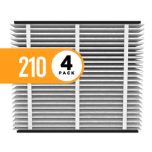 Aprilaire 210 Clean Air Filter for Aprilaire Whole-Home Air Purifiers, MERV 11, For Dust