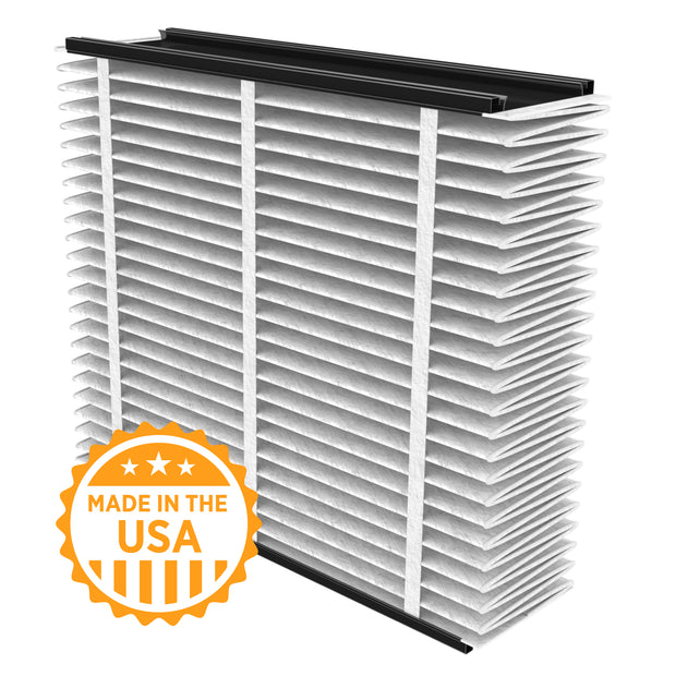 Aprilaire 810 Air Filter - Fits Aprilaire Filter Grille 2025FG and air cleaner models by Carrier, General, Honeywell, Lennox, Trion, and Ultravation