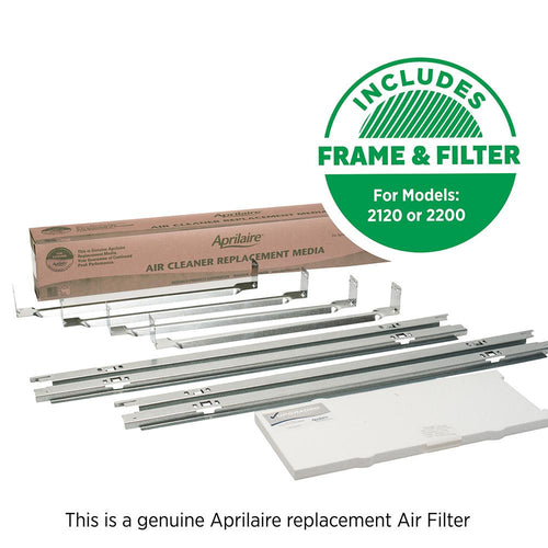 Aprilaire 1213 Air Filter Upgrade Kit for Air Purifier Models 2120, 2200