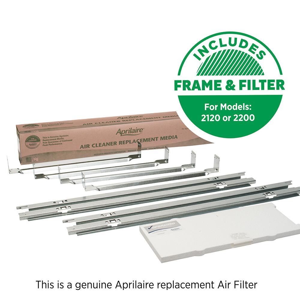 Aprilaire 1213 air filter upgrade kit