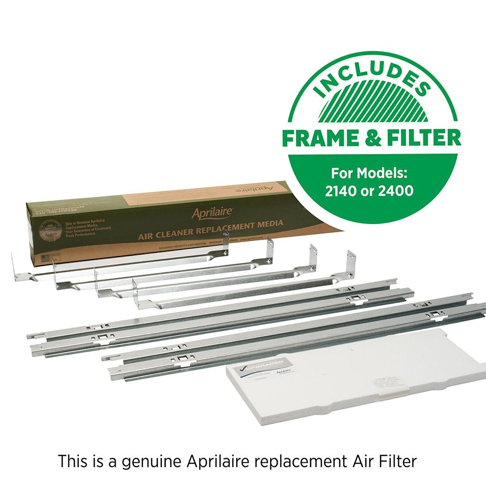 Aprilaire 1413 air filter upgrade kit