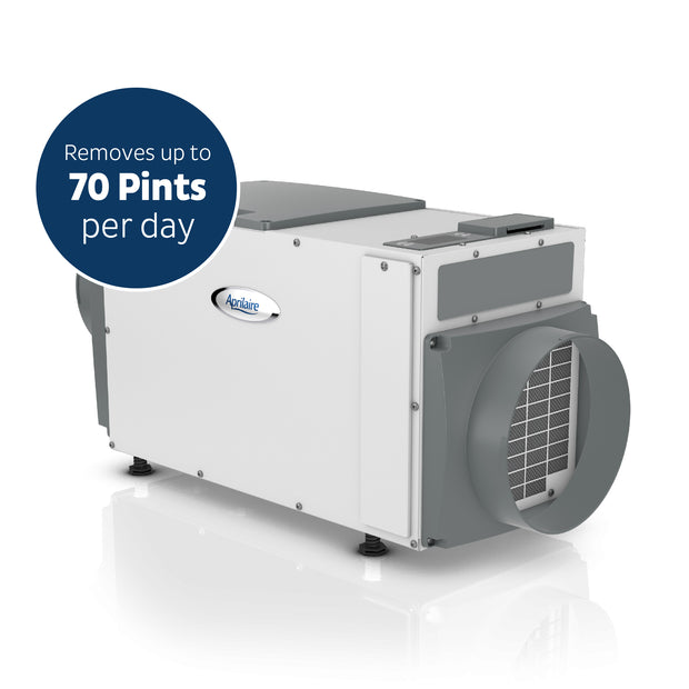 Aprilaire 1830 70 Pint Basement Pro Dehumidifier Side