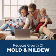 Reduces Growth of Mold & Mildew