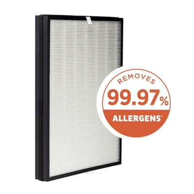 Aprilaire Allergy True HEPA Air Purifier Replacement Filter Captures Allergens & Odors