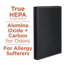 Aprilaire Allergy True HEPA Air Purifier Replacement Filter Removes Allergens & Odors