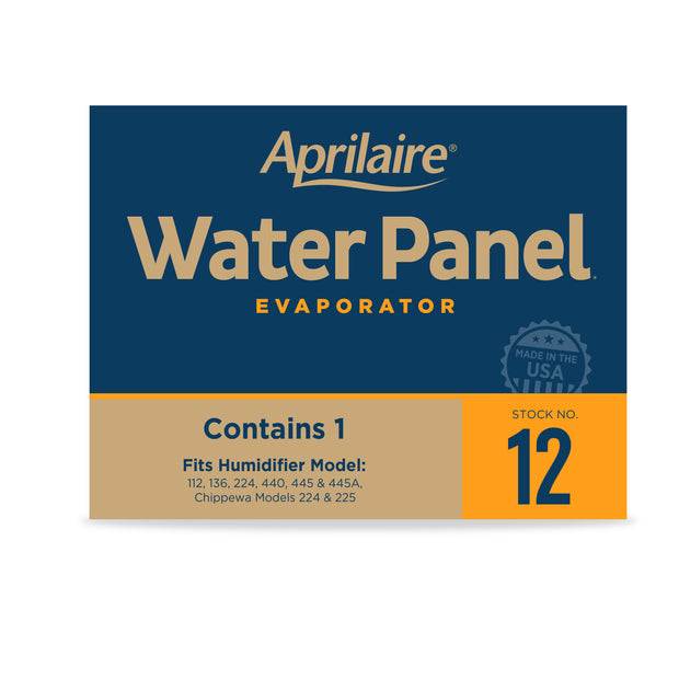 Aprilaire 12 Replacement Water Panel for Aprilaire Whole House Humidifier Models 112, 224, 225, 440, 445, 445A, 448
