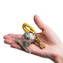 Aprilaire 4040 Solenoid Valve fits in the palm of your hand