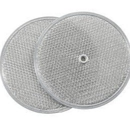 EZ Kleen Round Grease Mesh Filter for Aubrey, Broan, Miami-Carey, NuTone and Nautilus Range Hood Units