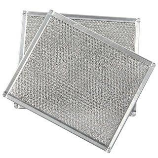 EZ Kleen grease mesh filter with slit and expanded aluminum mesh for broan and GE range hood units