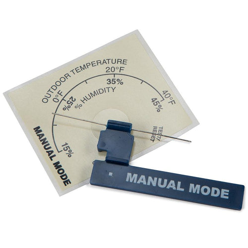 Aprilaire 4336 Manual Mode Resistor