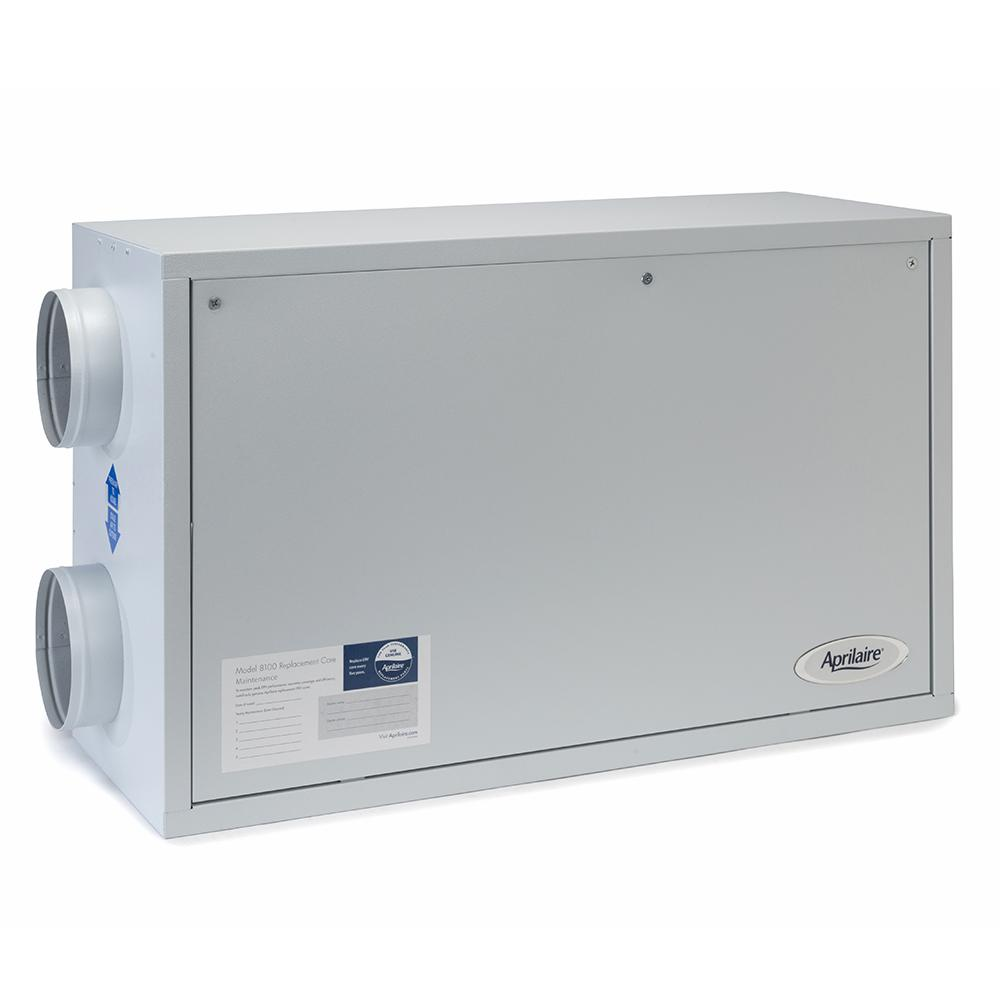 Aprilaire 8100 Energy Recovery Ventilation System right view