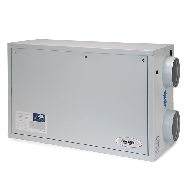 Aprilaire 8100 Energy Recovery Ventilation System left view