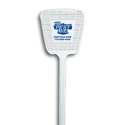 Team Pest USA - Fly Swatter (White) (1,000 qty)