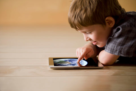 child playing ipad can leave them tired