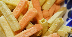 veggie stick snacks - toucca kids must haves for travel with kids