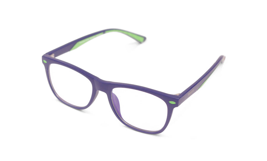Connor Dark Navy Blue Light Blocking Glasses