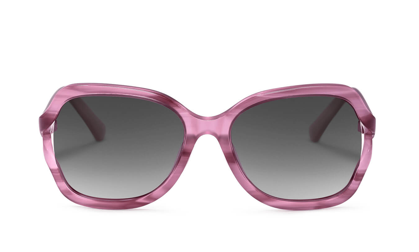 Avery Misty Pink Polarized Sunglasses