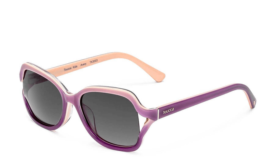 Avery Rose Gradient Polarized Sunglasses
