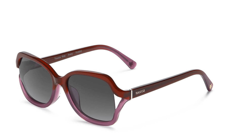Avery Violet Gradient Polarized Sunglasses