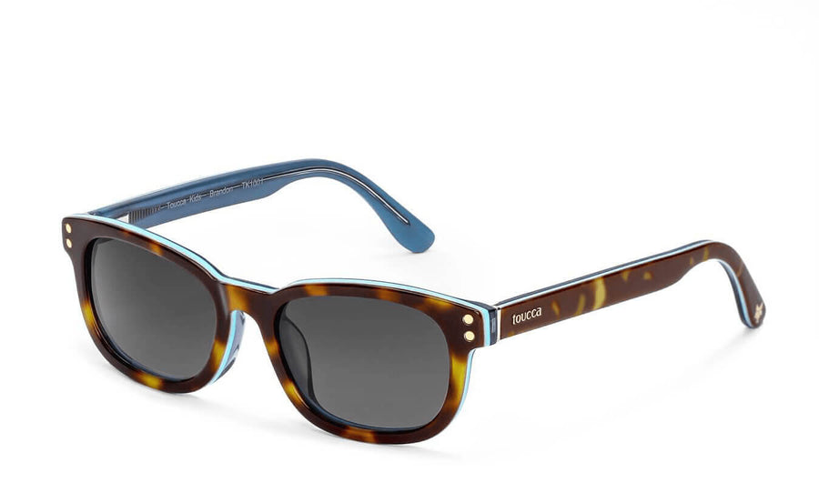 Brandon Blonde Havana Polarized Sunglasses