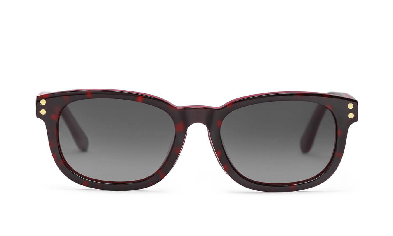 Brandon Red Havana Polarized Sunglasses