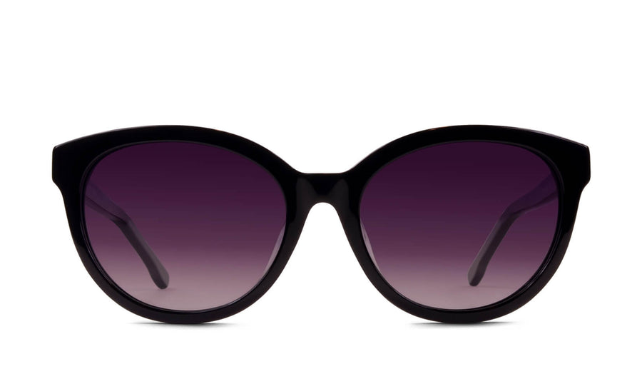 Kelly Midnight Black Polarized Sunglasses