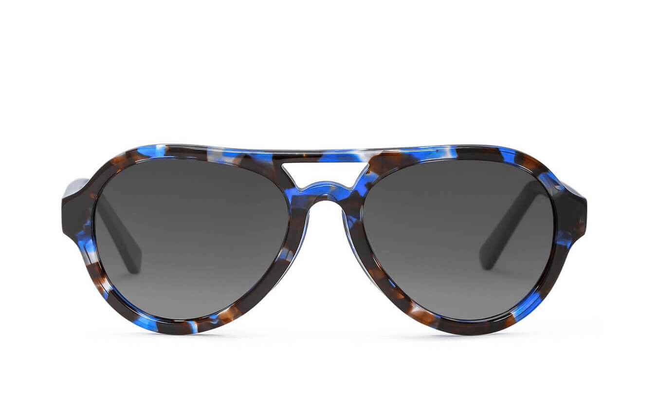 Parker Blue Tortoise Polarized Sunglasses