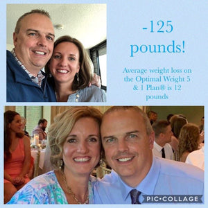 Get Inspired by One Couples Incredible 125 Pound Weight Loss Journey