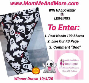 Enter To WIN Free Halloween Leggings
