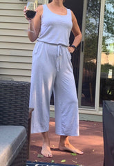 Gray Jumpsuit MomMeAndMore