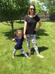 Mommy and Me Bee Leggings