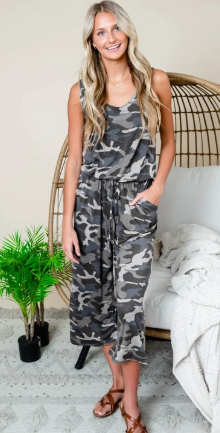 Capri Jumpsuit from MomMeAndMore