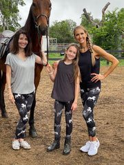 mommy and me horse leggings MomMeAndMore.com