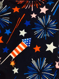 Womens Firework 4th of July Leggings Leggings MomMe and More
