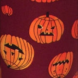 Girl's Halloween Pumpkin Leggings Leggings MomMe and More