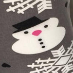 Girl's Snowman Winter Leggings, Gray: S and L Leggings MomMe and More
