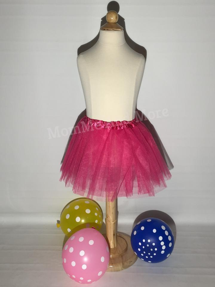 Girl's Pink Ballet Tutu Princess Full Tulle Skirt