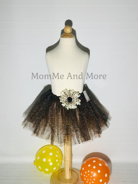 Girl's Cheetah Ballet Tutu Princess Full Tulle Skirt - MomMe and More Matching Mommy and Me Clothing