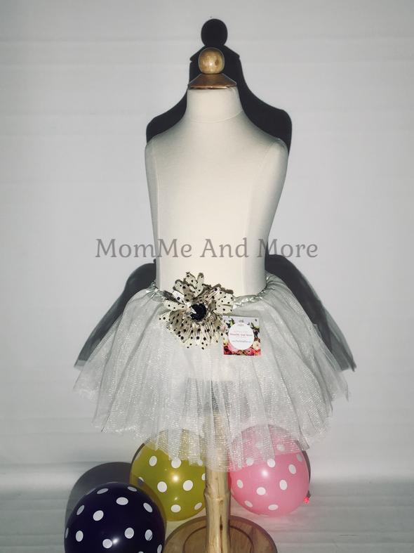 Girl's White Ballet Tutu Princess Full Tulle Skirt - MomMe and More Matching Mommy and Me Clothing