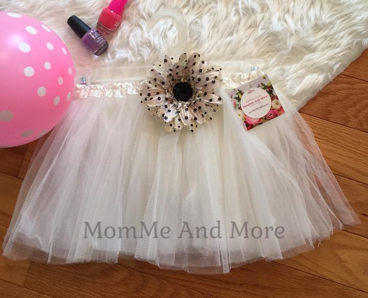 50% Off Girl's White Ballet Tutu Princess Full Tulle Skirt Tutu MomMe and More